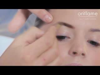 Мастер-класс по макияжу от Йонаса Врамеля (официальный визажист Орифлэйм) шаг 4,...